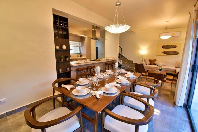 Comedor de casa en Saltillo modelo Duna en Alyssa Residencial.