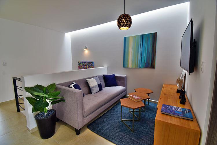 Estancia de casa modelo Lenor 2 en Lenna Residencial