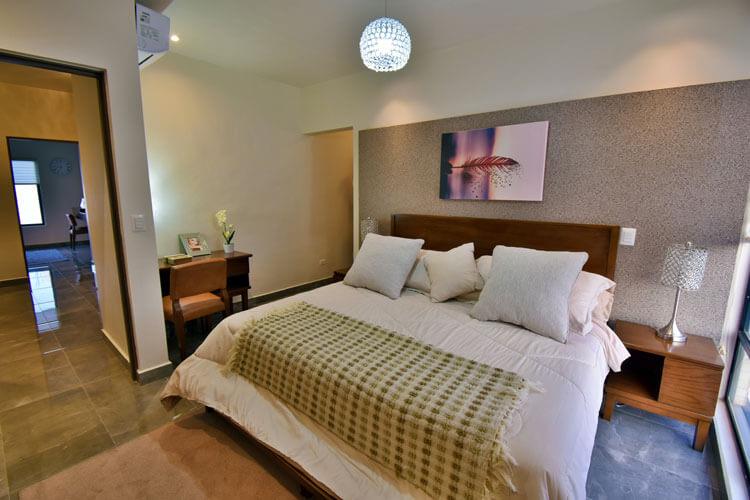 Recámara principal de casa en Saltillo modelo Duna en Alyssa Residencial.