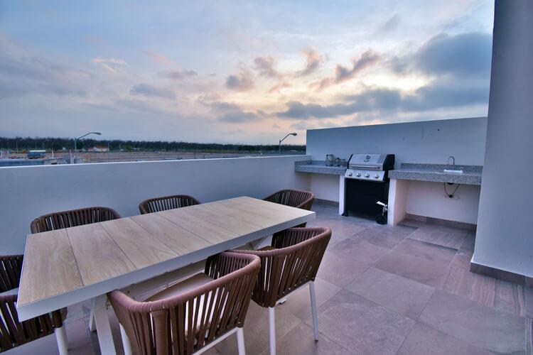 Terraza de casa en Saltillo modelo Duna en Alyssa Residencial.