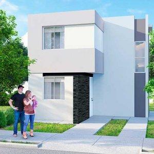 Casas en  García – Modelo Marsella 8