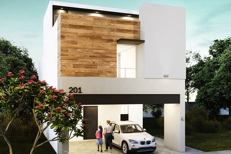 Casa en venta en Apodaca modelo Attena en Monetta Residencial.