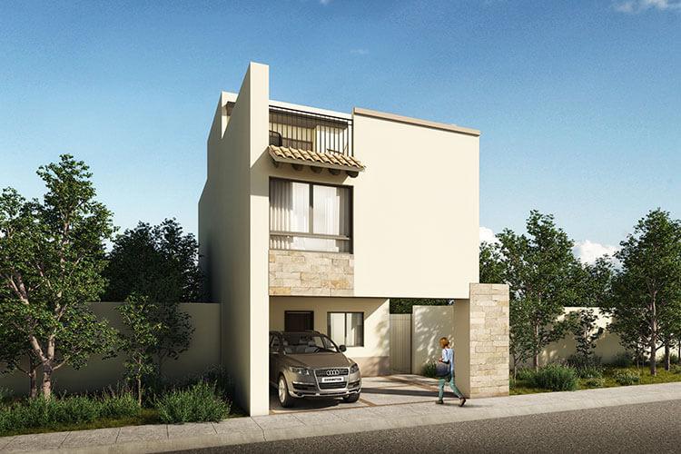 Casa en venta en León modelo Ibiza en Mayorazgo Santa Elena.