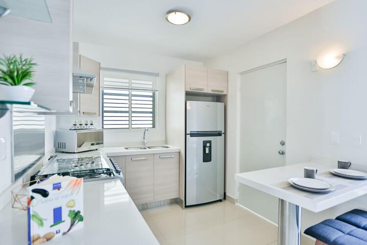 Cocina de casa en Cumbres modelo Ibiza VI en Montenova Residencial.