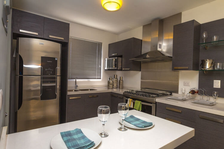 Cocina de casa en Escobedo modelo Ibiza VI en Anáhuac San Patricio.
