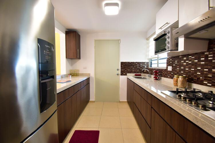 Cocina de casa en Guadalupe modelo Provenza en Paseo Amberes.