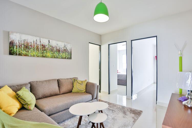 Estancia de casa en Cumbres modelo Ibiza VI en Montenova Residencial.