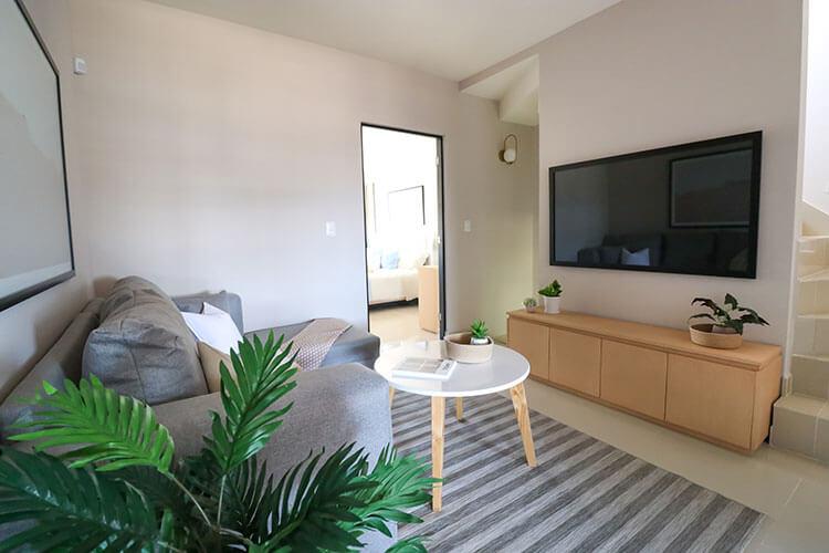 Estancia de casa modelo Ibiza 3N en Montenova Residencial.