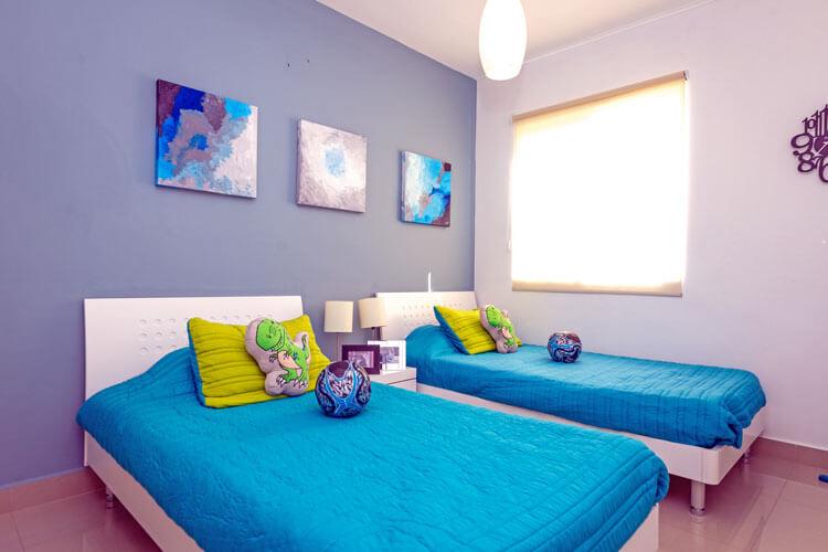 Recámara secundaria de casa en Escobedo modelo Ibiza VI en Anáhuac San Patricio.