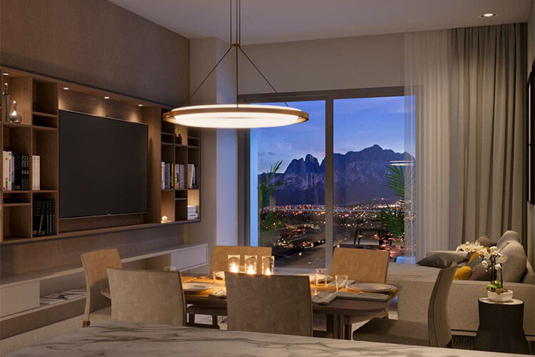Departamento en venta en Monterrey tipo B-C en Torre West