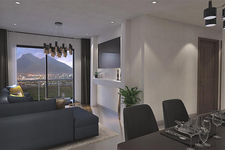 Departamento tipo A3 en Eloy Apartments