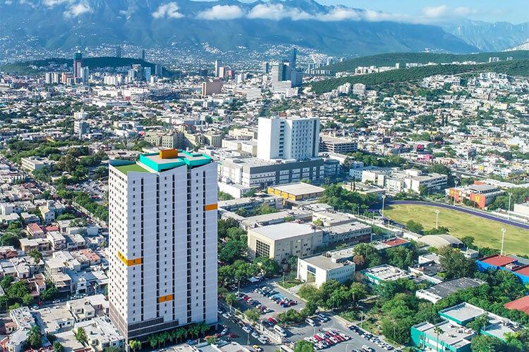 Torre de departamentos Las Residencias en Monterrey