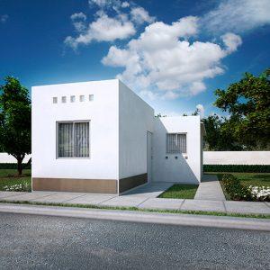 Casas en Reynosa – Modelo Alcalá