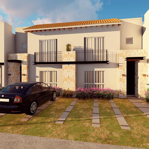 Casas en  León – Modelo Mágala