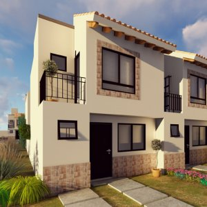 Casas en  León – Modelo Campania