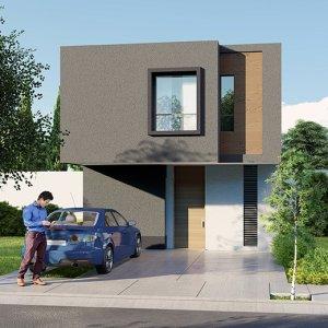 Casas en Zákia,  Querétaro – Modelo Lenor