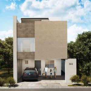 Casas en  Escobedo – Modelo Ibiza N3