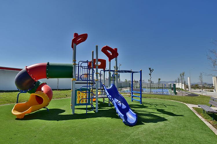 Área de juegos infantiles en Visalta Residencial.