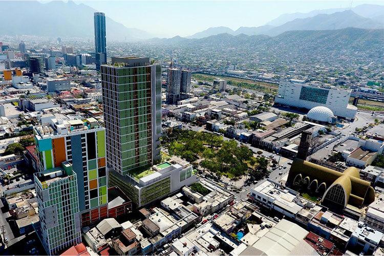 Departamentos Semillero Purísima en el centro de Monterrey.