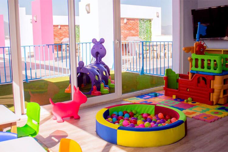 Area de juegos infantiles de torre Kyo Radiant en Monterrey centro