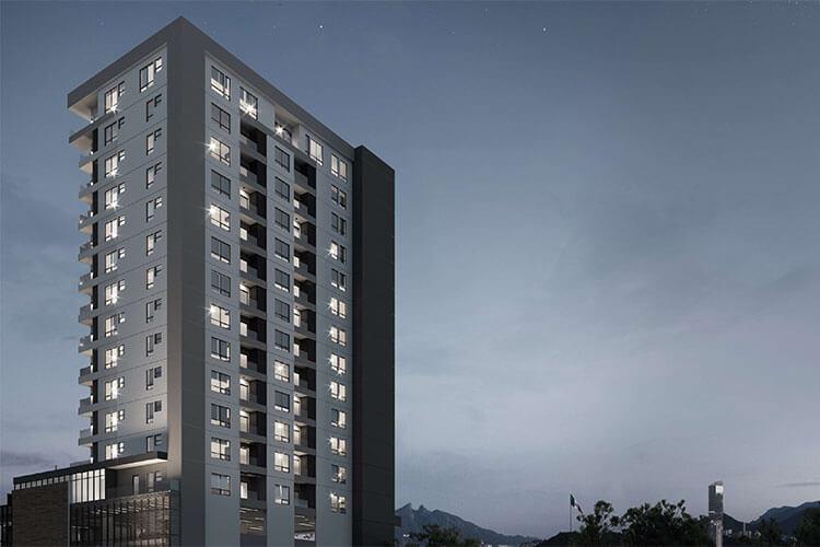 Departamentos en venta en Monterrey Torre F1RST