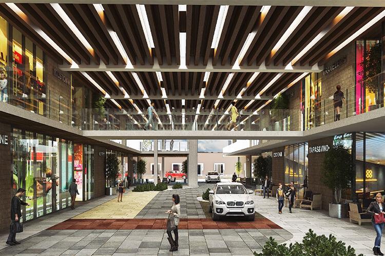 Plaza comercial de Torre Vía Zócalo