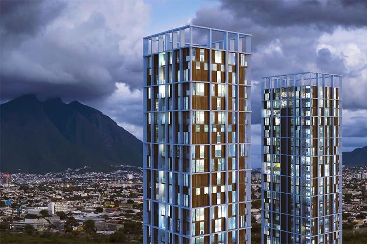 Vía Zócalo vista oriente Monterrey centro