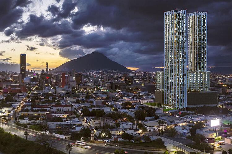 Torre Vía Zócalo en Monterrey centro