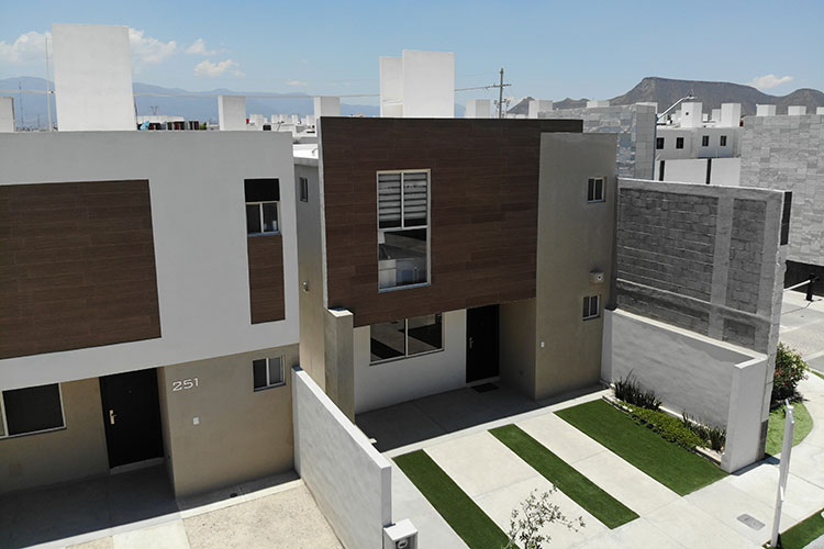 Casas en fraccionamiento Real Ankara en Saltillo Coahuila