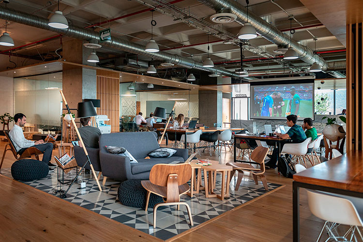 Área social de Torre Pixel