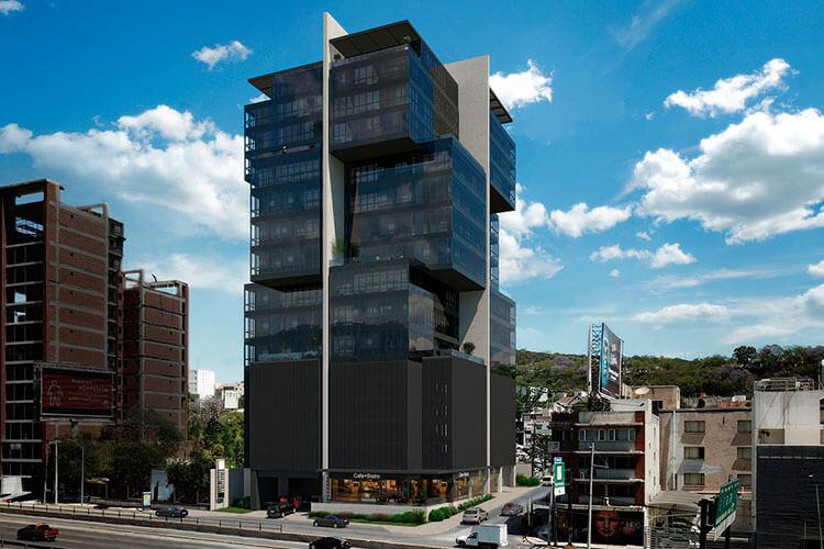 Departamentos en Torre Pixel en Monterrey Centro