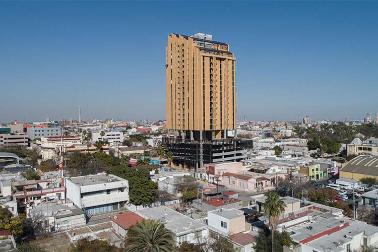Torre Históricah en el centro de Monterrey