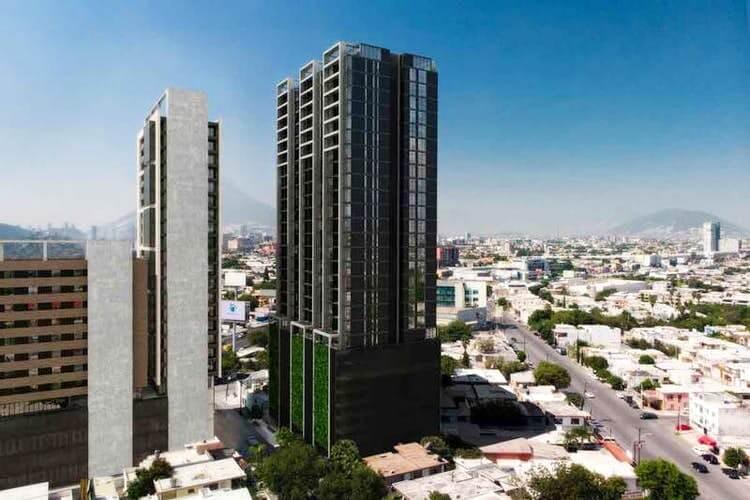 Torre Alejandría de departamentos en Monterrey zona Tec