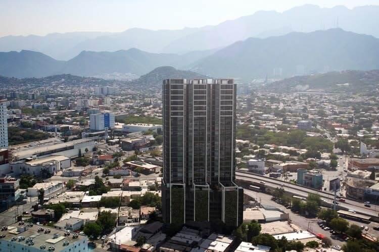 Torre de departamentos Alejandría en Monterrey