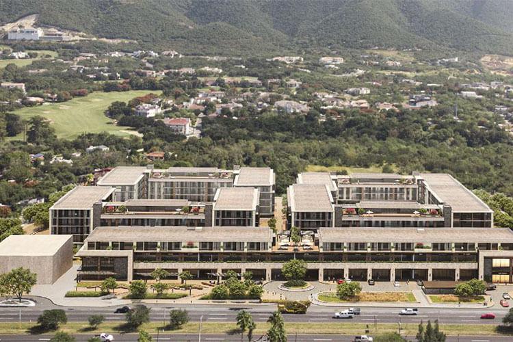 Departamentos Aldea Sur en Carretera Nacional Monterrey