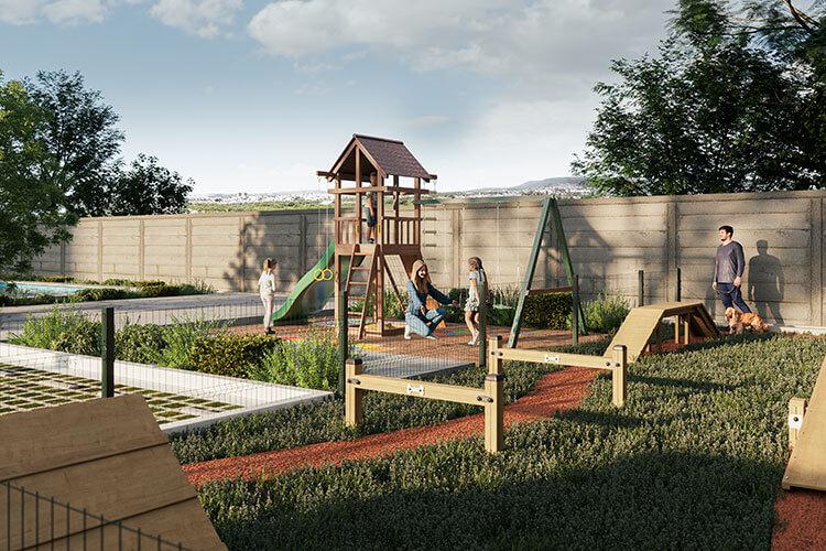 Área de juegos infantiles en Ready by Loma